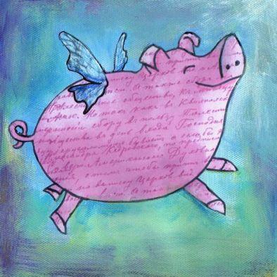 724086c4f1e9783590f42d4192455f63--pig-art-flying-pig